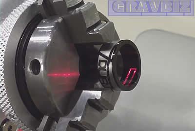 Лазерная гравировка на кольцах Gravmax mini 10W