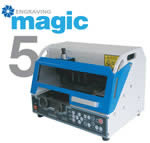 Настольный гравировальный станок - ударный принтер по металлу MAGIC 5