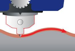 Настольный гравировальный станок MAGIC F300 может наносить гравировку на кривые, изогнутые и наклонные поверхности: