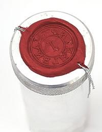Металлическая печать пломбир для опечатывания ключей